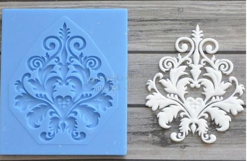 Decorative Accent  X-Small Silicone Mold