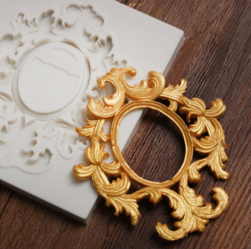 Frame filigree Silicone Mold