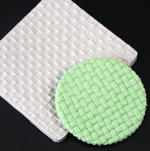 Knit/ Weave  Impression  Silicone Mold-102