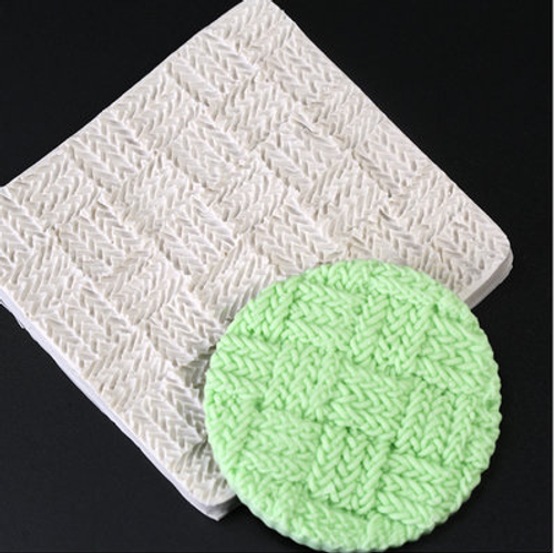 Knit/ Weave  Impression  Silicone Mold-103