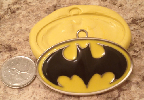 XL Batman  Mold Silicone