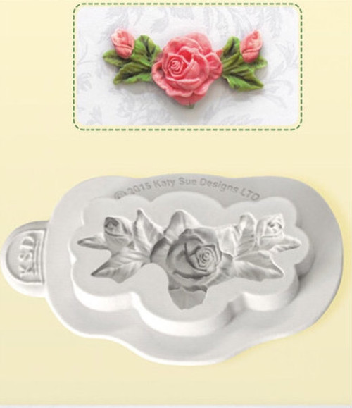 Flower Rose Bud Silicone Mold - PM255