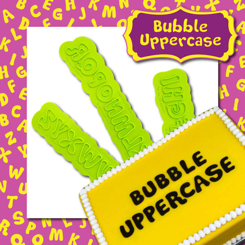 Bubble  Uppercase Flexabet