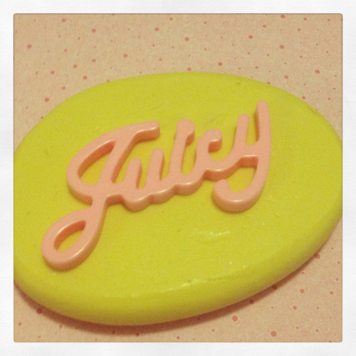 Juicy Word Mold Silicone