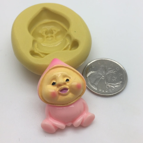 Baby Face Small Silicone Mold