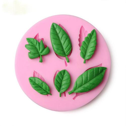 Leaf Set  Silicone Mold