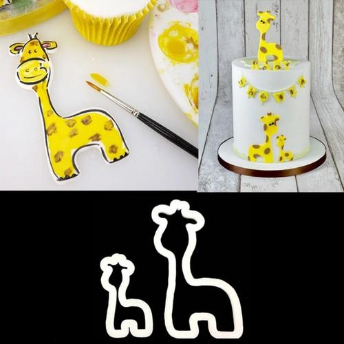 Giraffe Fondant Cutter Set