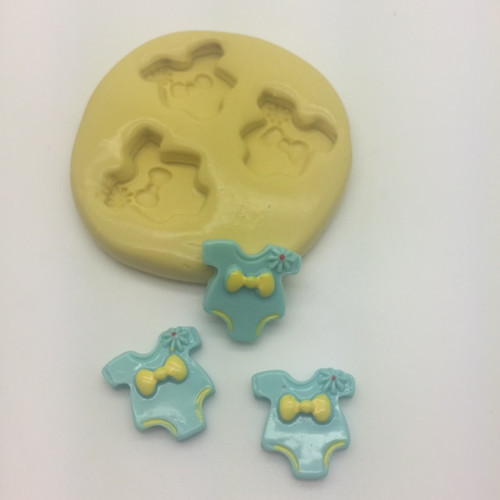 Baby Onsie Silcione Mold Set