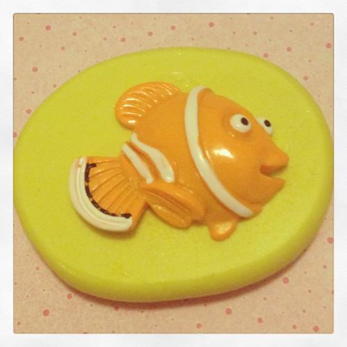 Cute Fish Mold Silicone