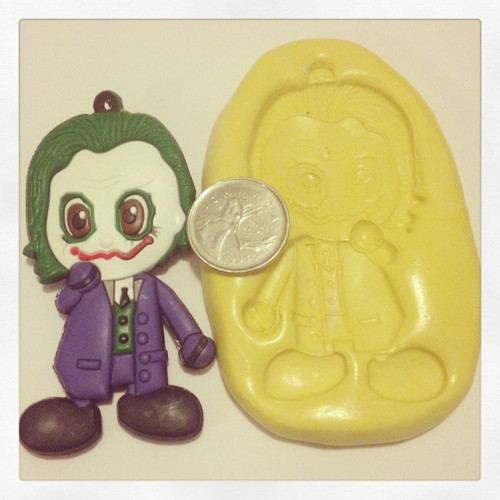 XL Joker Batman Mold Silicone
