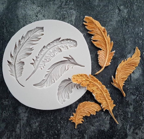 Feather Set  Silicone Mold