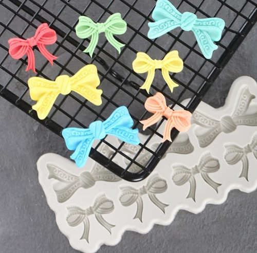 Fancy Bow  Silicone Mold set