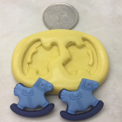Rocking Horse Silicone  Mold