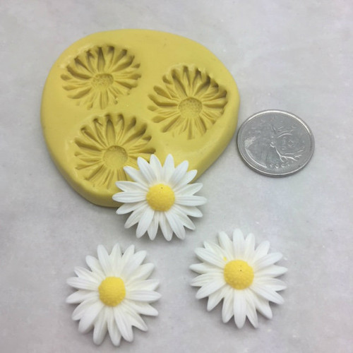 Daisy Flower Silicone Mold Large