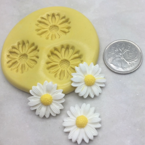 Daisy Flower Silicone Mold Med