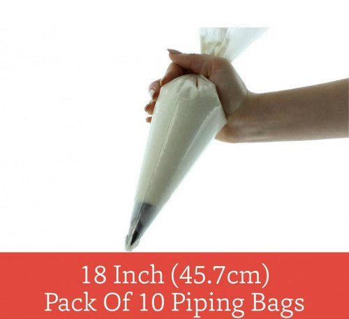 """18"""" Disposable Piping Bags (Pack of 10) - by Sugar Crafty"""