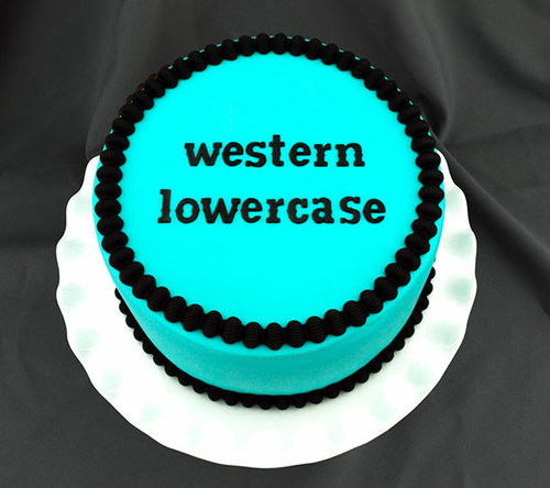 Western Lowercase Flexabet Letters by Marvelous Molds