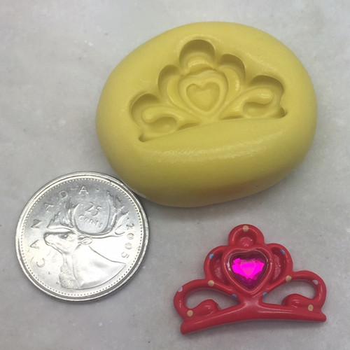 Xs Princess TIARA Crown Mold Silicone