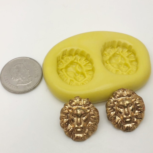 Small Lion Mold Set Silicone