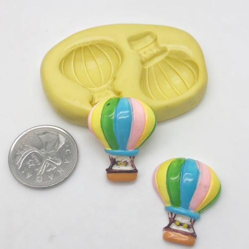 Hot Air Balloon Mold Set  silicone