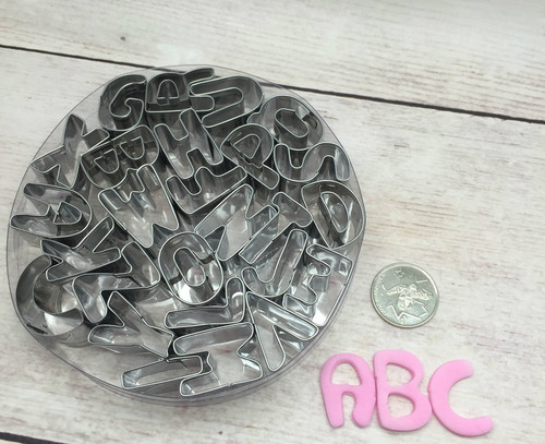 Alphabet Metal Cutter Letter Set