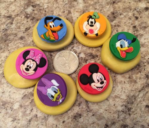 Mickeys Club house Mold Set silicone