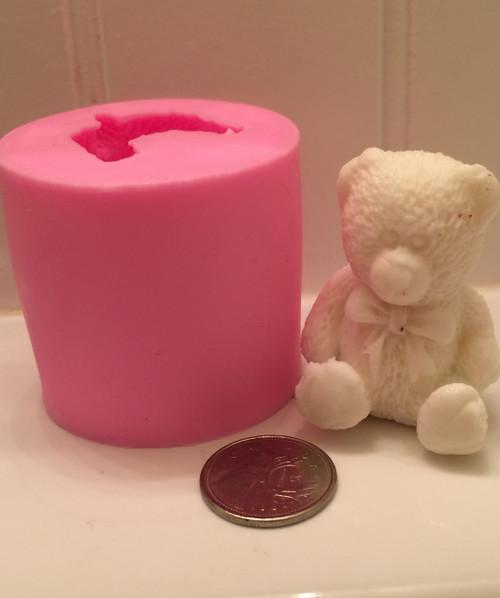 3d Teddy Bear Mold PM347