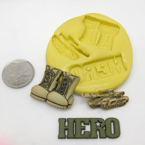 Army Hero Mold set silicone