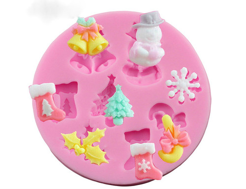 Mixed Christmas Mold Set