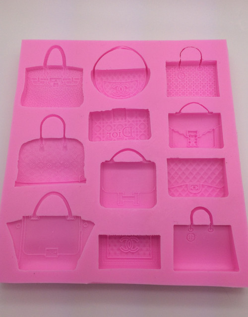Purse  Mold Silicone Mold Set