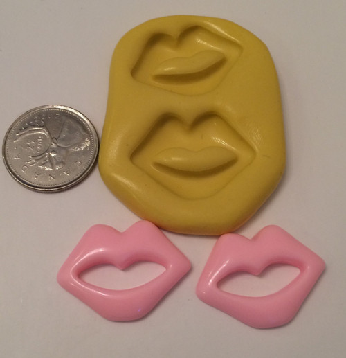 Lip Set Silicone Mold