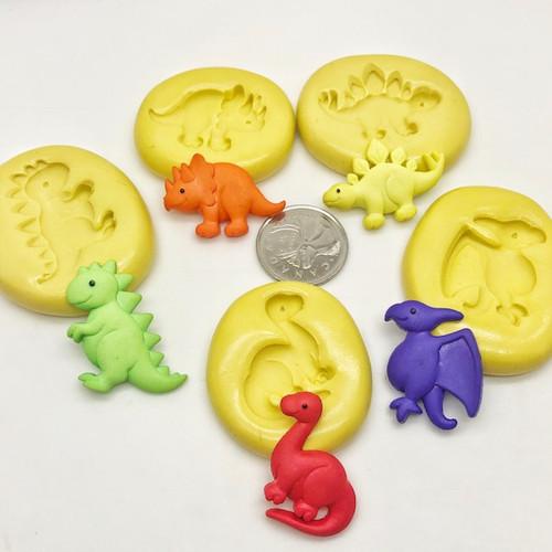 Dinosaur Set Silicone Molds