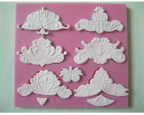 Large Demask Silicone Mold 6 in 1