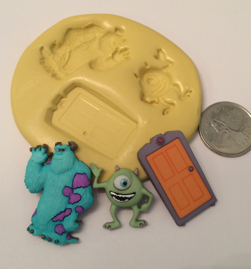 Monster Inc. Silicone Mold Set