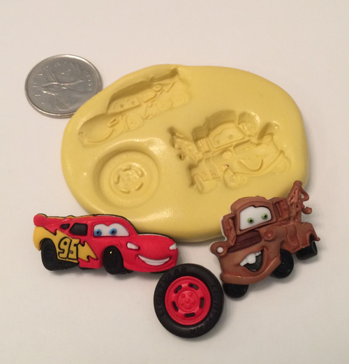 Cars Silicone Mold Set