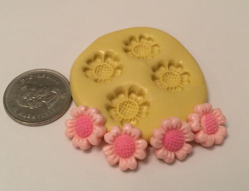 Mini Sunflower Silicone Mold Set