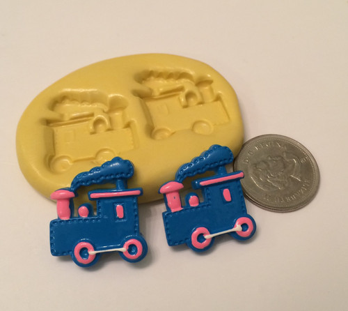 Train Set Silicone Mold