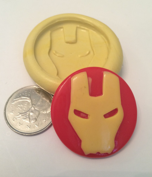 Iron Man Face Silicone Mold