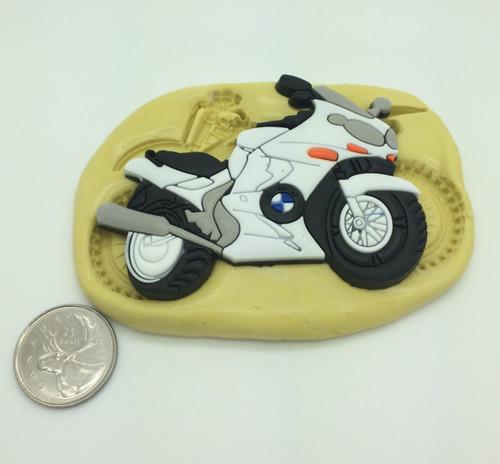 Large  Bike Motorcycle Silicone Mold  #2