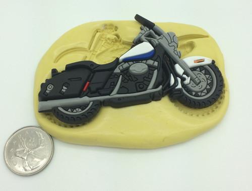 Large Bike Motorcycle Silicone Mold  #5