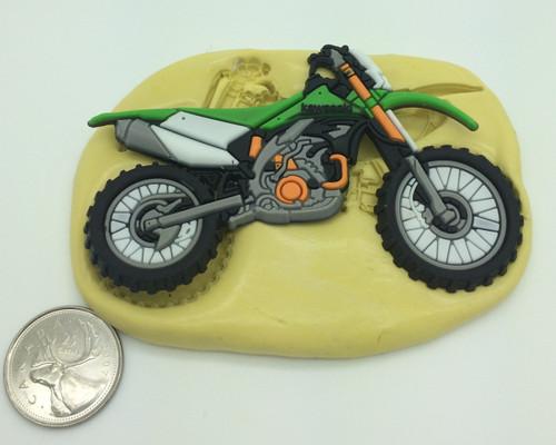 Large Bike Motorcycle Silicone Mold  #6