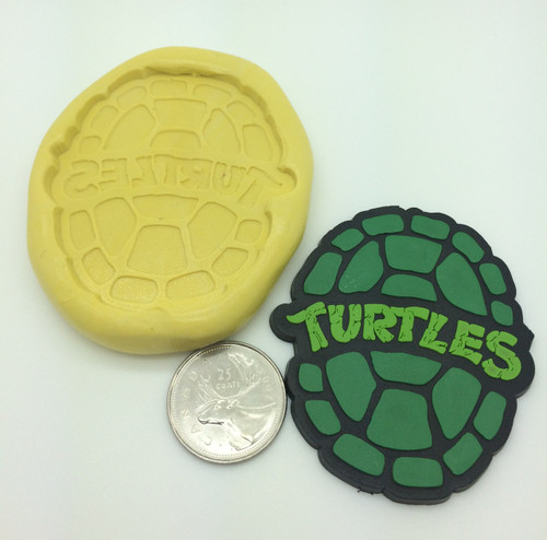 Large Ninja Turtle Shell Silicone Mold