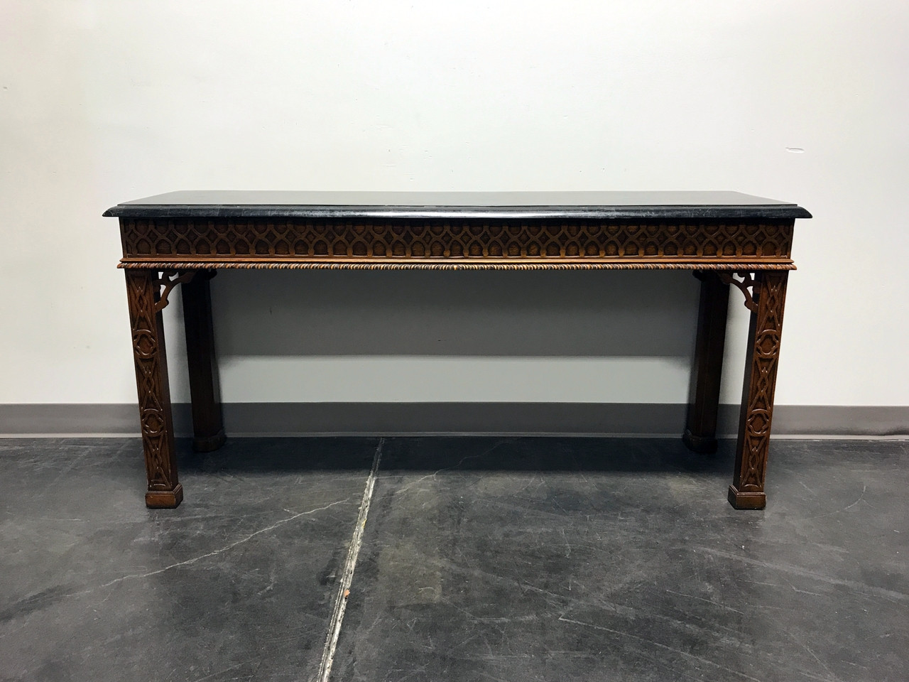 Sold out vintage carved mahogany tessellated marble sofa table sold out vintage carved mahogany tessellated marble sofa table attr to maitland smith watchthetrailerfo