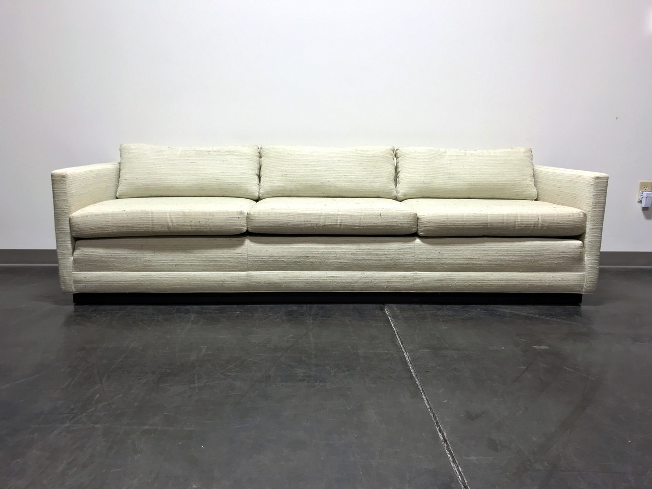 Gentil Mid Century Modern MCM Cube Sofa In The Style Of Jack Cartwright