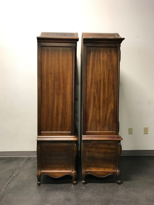 Charmant ... SOLD OUT   HICKORY MANUFACTURING CO Oak French Country Style Armoires    Pair ...