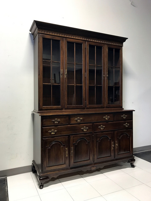 ... SOLD OUT   ETHAN ALLEN Cherry China Cabinet Hutch ...