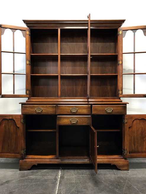 ... SOLD OUT   STATTON Oxford Antique Cherry China Cabinet Hutch ...