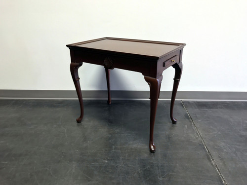 ... Mahogany Queen Anne Style Tea Table ...
