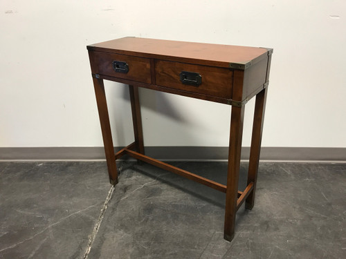 ... SOLD OUT   Vintage HEKMAN Campaign Style Diminutive Console Table