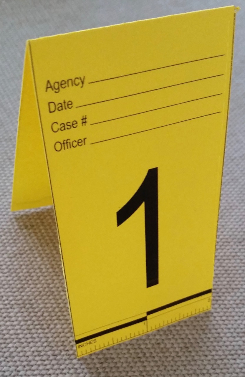 Disposable Evidence Markers & Disposable Evidence Markers - Fire Investigator Supply